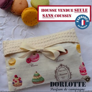 Housse bouillotte seche Dorlotte chaufferette Simple pour 1 coussin chauffant chauffe main