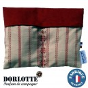 Kit chaufferette coussin chauffant Dorlotte Double : housse bouillotte micro-onde + 2 bouillottes micro-ondes