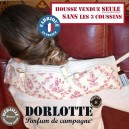 Housse bouillotte cervicale Dorlotte pour coussin cervical chauffant ( Lot de 3 chaufferette coussin chauffant cervicales )