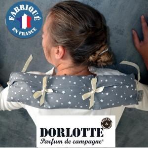 Kit bouillotte cervicale Dorlotte coussin cervical chauffant: housse bouillotte micro-onde + 3 chaufferette coussin chauffant
