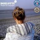 Kit coussin chauffant nuque et dos Dorlotte chauffe epaule : housse bouillotte micro-onde+chaufferette par lot de 4