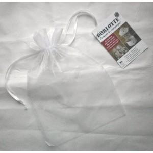 Pochon organza Medium - Sachet organza 20x30 cm blanc - Pochette organza