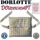Housse bouillotte peluche personnalisable Sac à dos Dorlotte Doudou'adapt