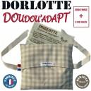 kit chaufferette + housse bouillotte peluche personnalisable Sac à dos Dorlotte Doudou'adapt