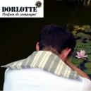 Housse bouillotte seche chauffe epaule éco Dorlotte pour coussin chauffant nuque et dos