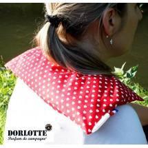 Kit chauffe epaule éco Dorlotte : housse bouillotte seche + un coussin chauffant nuque et dos