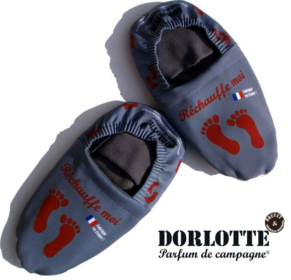 Notre gamme de chausson chauffant Dorlotte