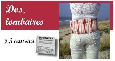 Le kit ceinture chauffante lombaire Dorlotte