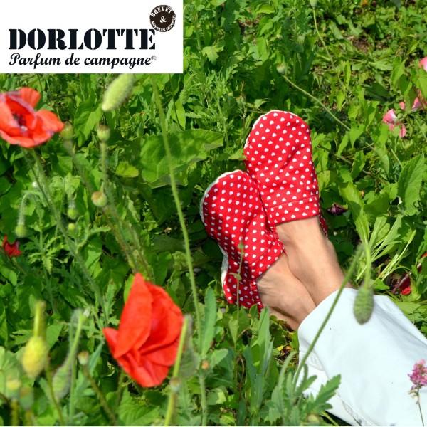 Les chaussons chauffants Dorlotte