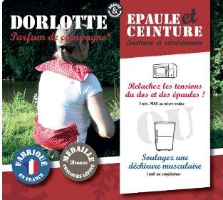 Notre gamme de pack bouillotte micro-onde éco Dorlotte