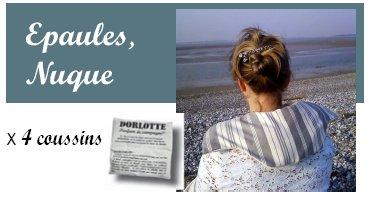 Coussin chauffant nuque Dorlotte