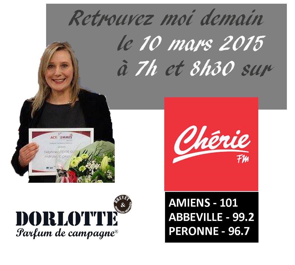 La créatrice de Dorlotte témoigne sur l'entrepreneuriat au féminin sur Chérie FM