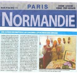 Le Paris-Normandie parle des dorlottes